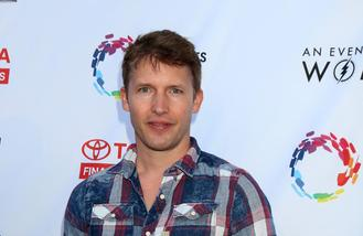 James Blunt injected Carrie Fisher's wit into new album