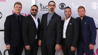 Backstreet Boys join in romantic serenade for fan's proposal