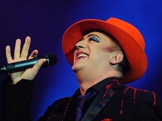 Folk duo inspired me - Boy George