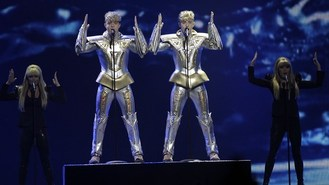 Jedward through to Eurovision final