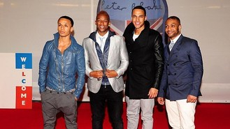 JLS' Aston and Marvin on booze ban