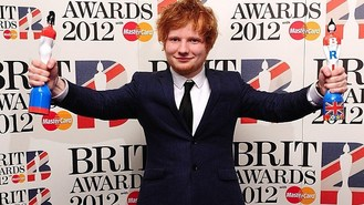 Ed Sheeran does double at Brits
