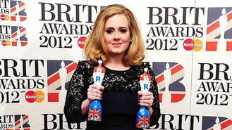 Brit winners dominate the charts