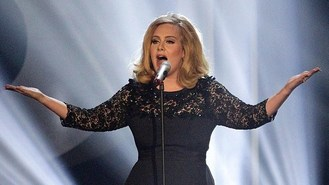 Tearful Adele in Ivor Novello win