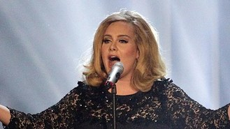 Adele tops most popular act poll