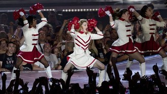 Madonna parades into Israel on tour