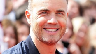 Smiling Gary at X Factor auditions