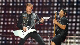 Metallica rock out at Download