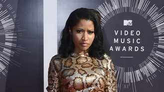 Minaj sorry over 'Nazi' row video