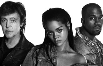Rihanna goes acoustic with Paul McCartney