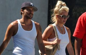 Britney Spears and Kevin Federline get on great