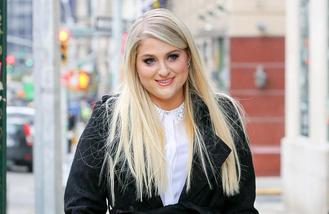 Meghan Trainor catches a chill