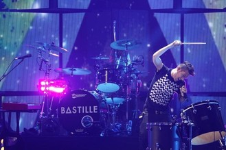 Bastille play intimate London gig for war charity