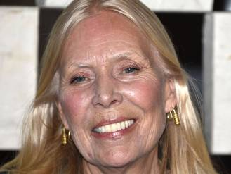 Joni Mitchell said to be 'alert' despite coma claims