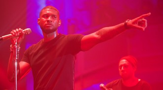 Could Usher be making a move to the UK soon?